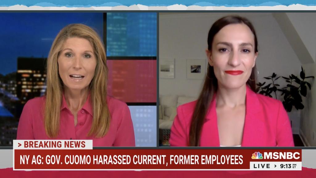 Senator Biaggi on Maddow Discussing Governor Cuomo